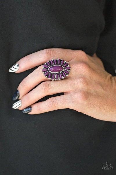 Ring ~ Cactus Cabana - Purple