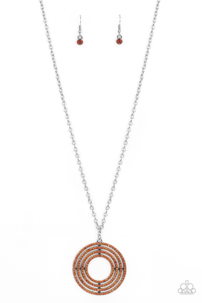 High-Value Target - Brown Necklace set