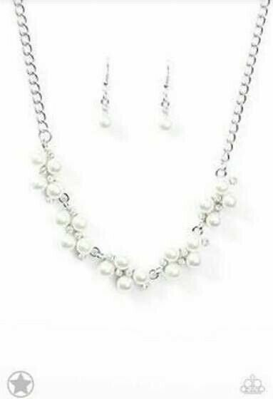 Tie The Knot White Necklace
