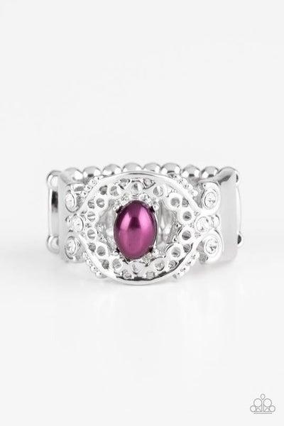 Mod Modest Purple Ring