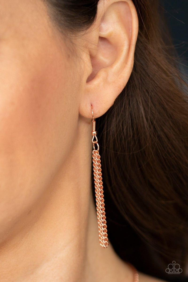 As MOON As I Can - Copper Necklace set