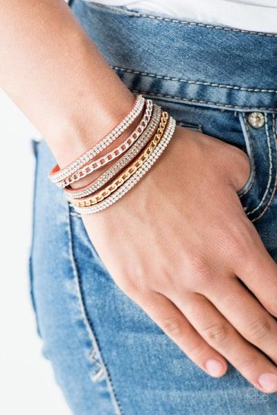 Fashion Fiend - Orange Bracelet