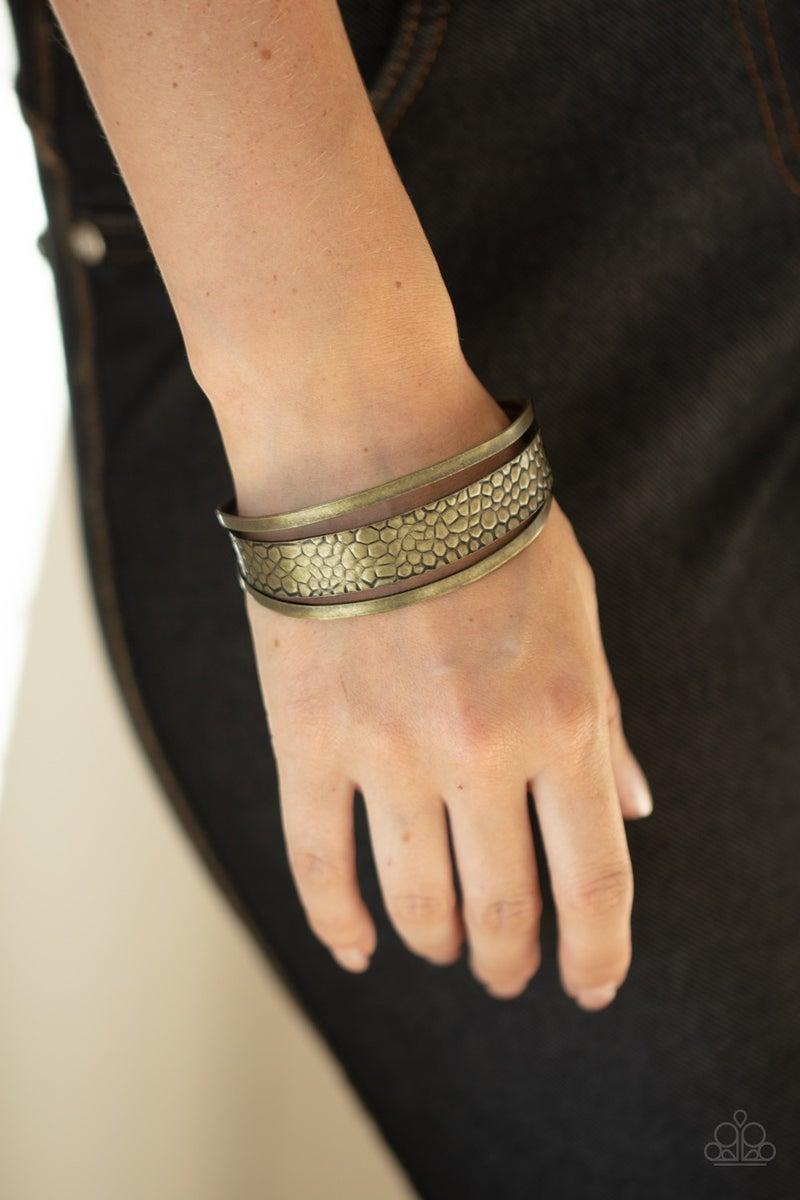 Jungle Jingle - Brass Bracelet