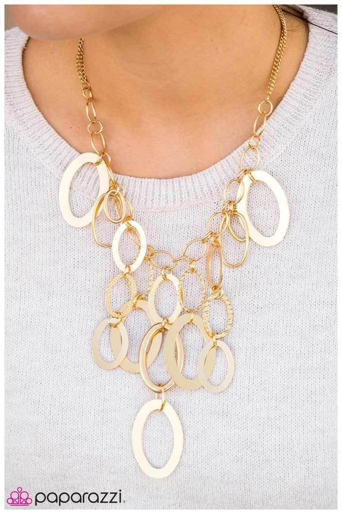 A Goden Spell Gold Necklace