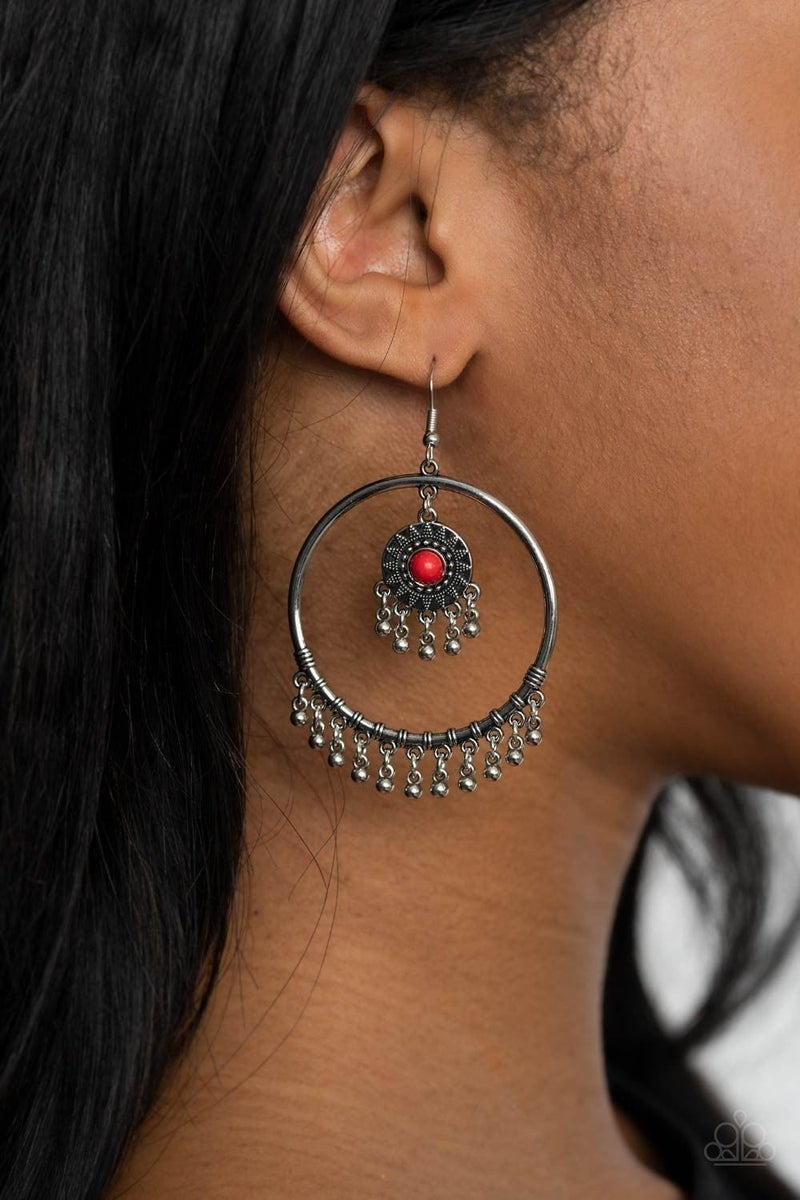 Sunny Equinox - Red Earring