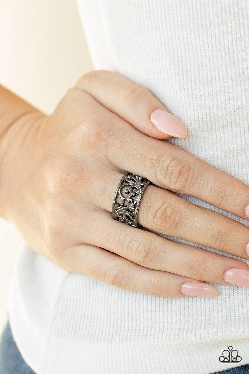 Di-VINE Design - Black Ring