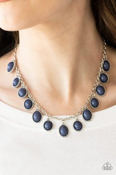 Make Some ROAM! - Blue Necklace set
