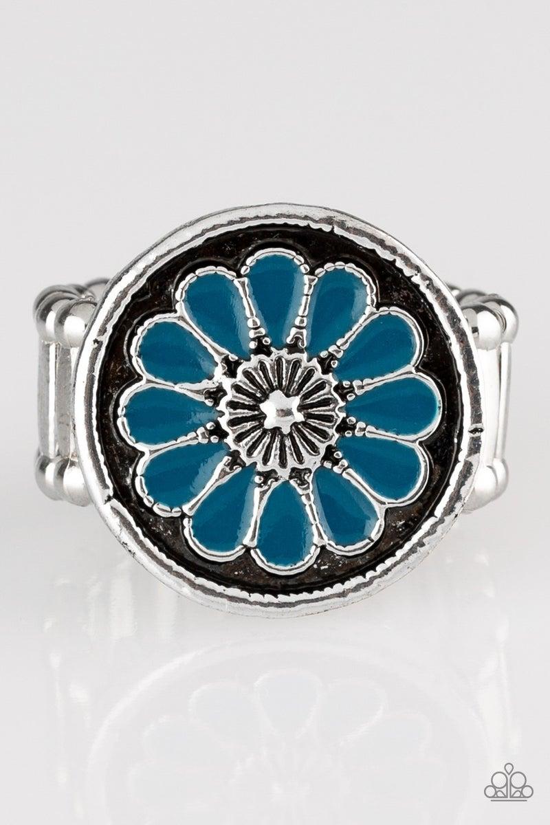 Garden View - Blue Ring