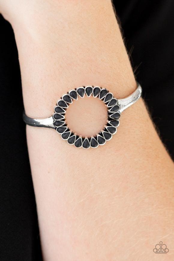 Paparazzi Accessories - Divinely Desert - Black Bracelet