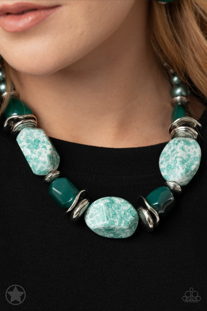 In Good Glazes - Blue Necklace