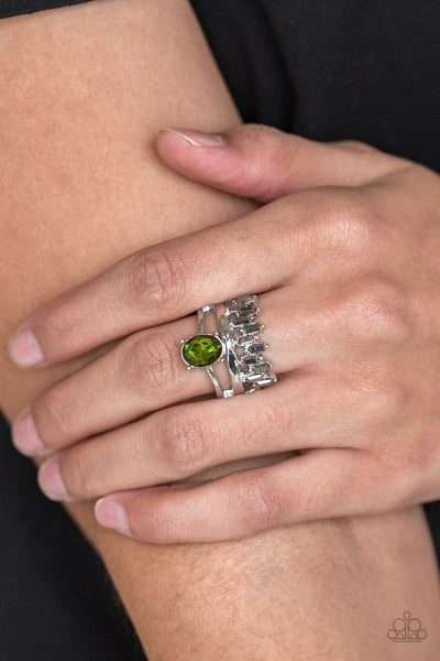 Crowned Victor - Green Ring
