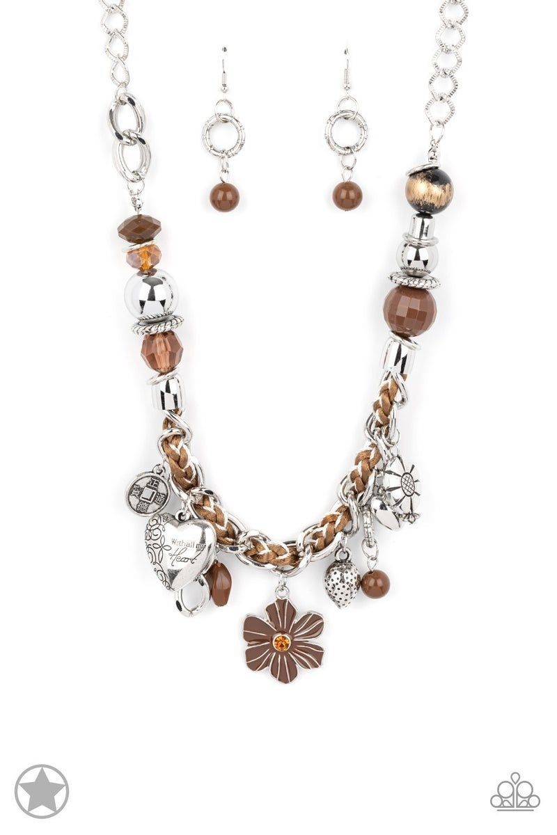 Charmed, I Am Sure - Brown Necklace