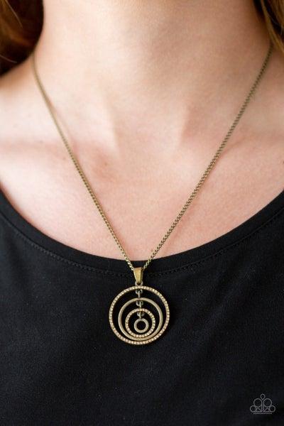 Upper East Side - Brass Necklace Set