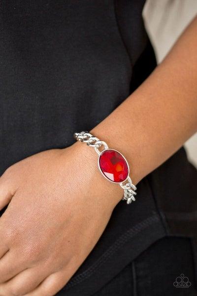 Luxury Lush - Red Bracelet
