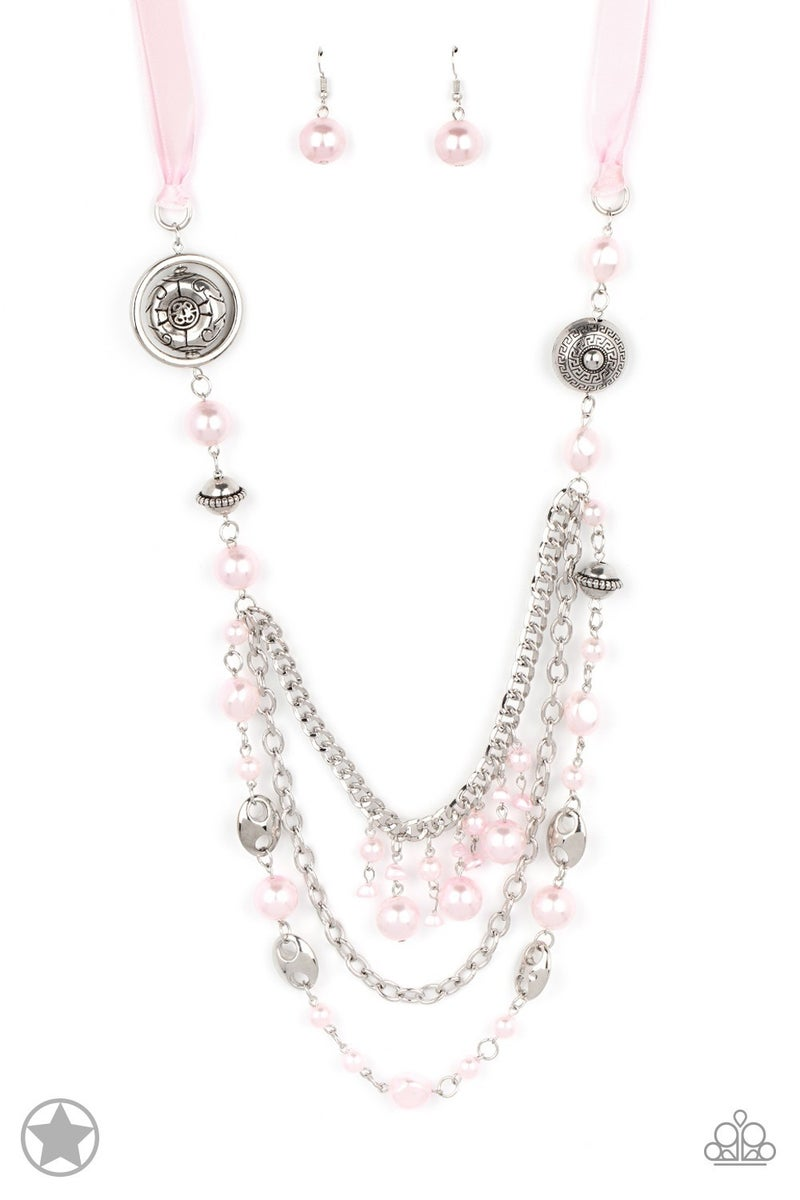 All The Trimmings - Pink Neckalce