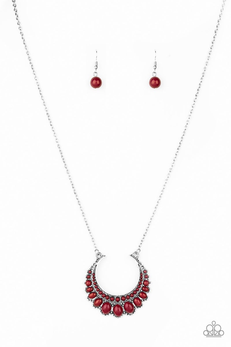 Count To ZEN - Red Necklace set