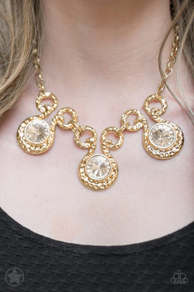 Hypnotized - Gold Necklace