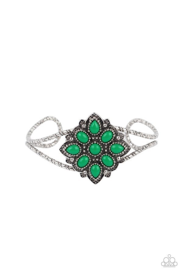 Happily Ever APPLIQUE - Green Bracelet