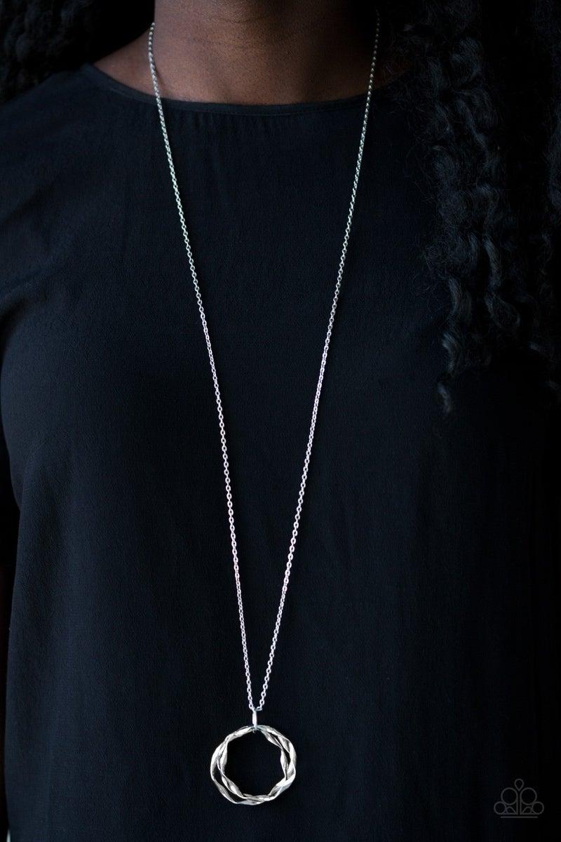 Millennial Minimalist - Silver Necklace set