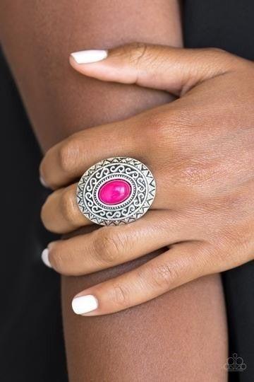 Hello, Sunshine Pink Ring