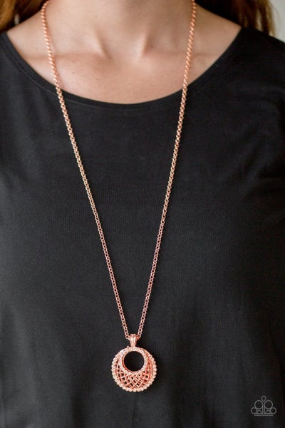 Net Worth - Copper Necklace Set