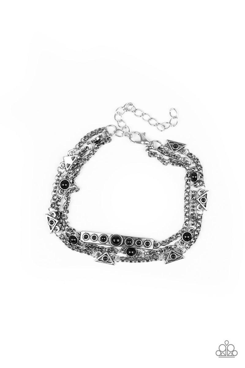 No Means NOMAD - Black Bracelet