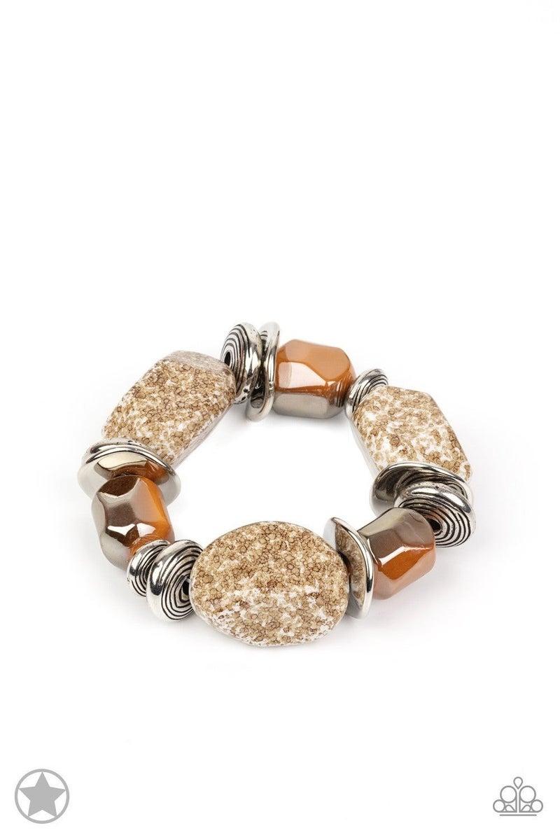 Glaze of Glory - Peach Bracelet