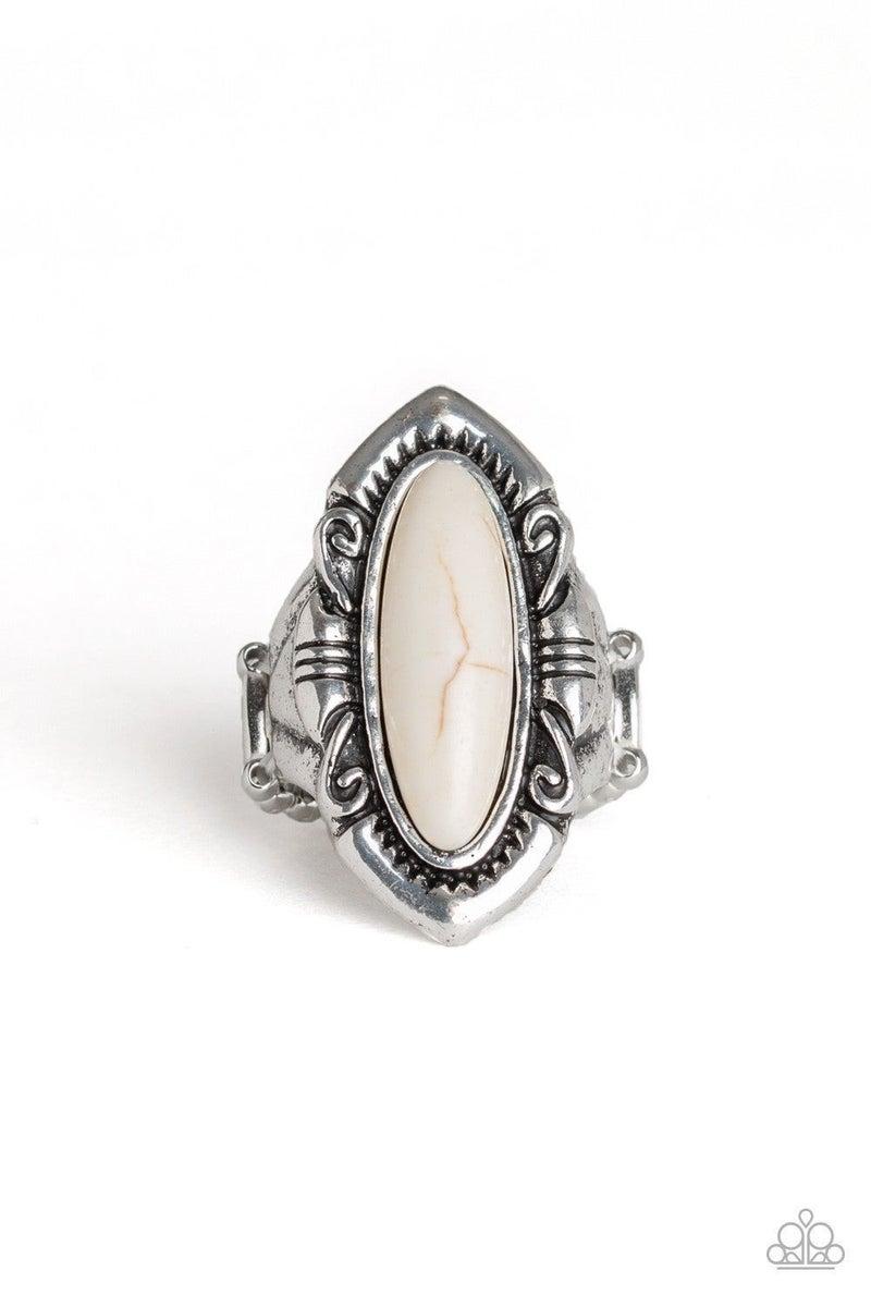 Santa Fe Serenity - White Ring