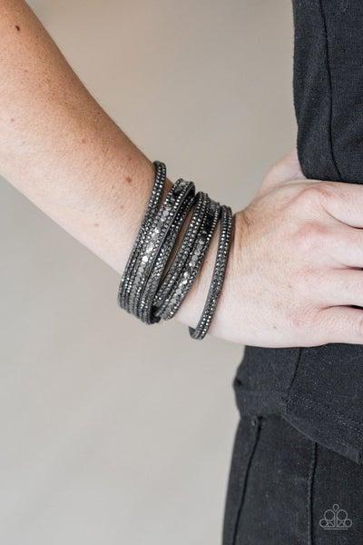 Rock Star Attitude Black Urban Bracelet