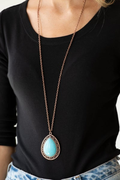 Full Frontier - Copper Necklace