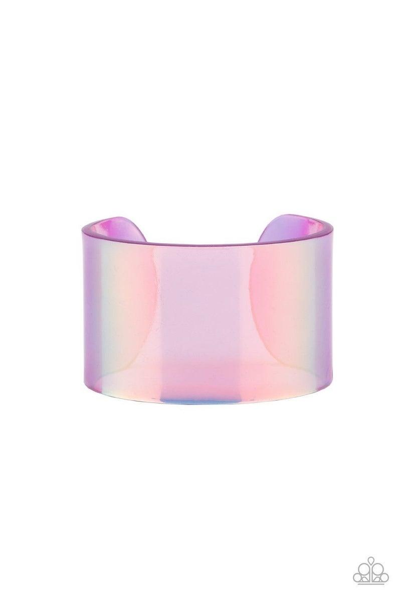 Holographic Aura - Purple Bracelet