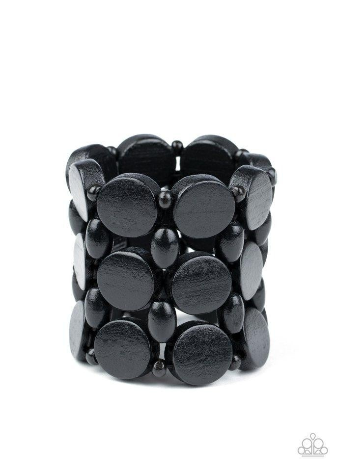 Paparazzi Bracelet ~ Cruising Coronado - Black