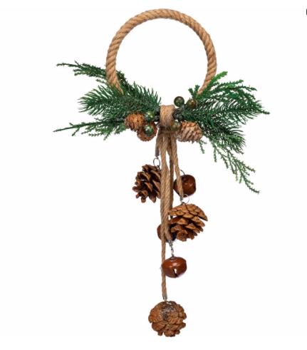 Doorknob Hanger - Pinecones