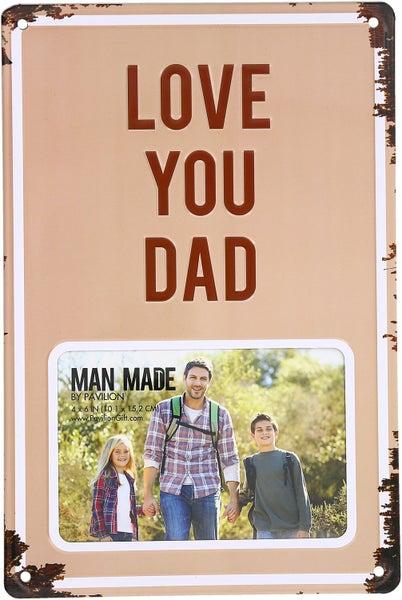 Dad - Tin Frames (2 Styles)
