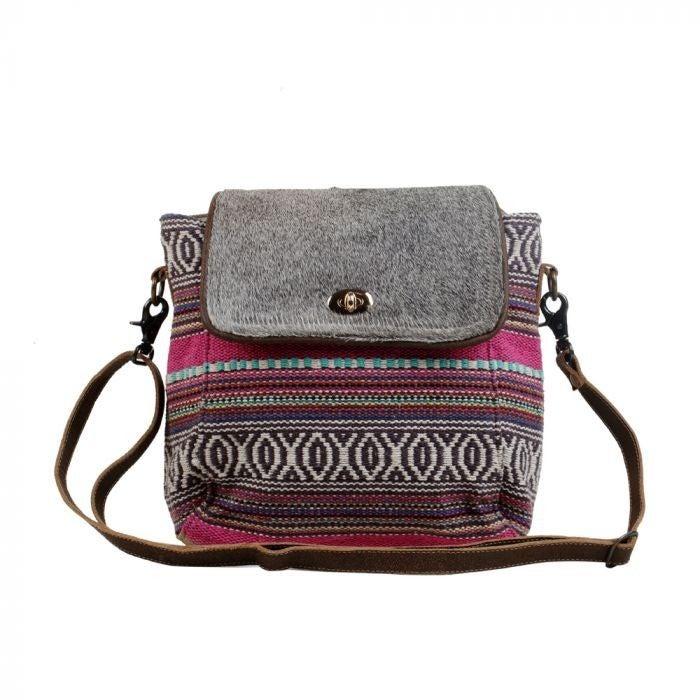 Pink Tiers Small & Crossbody Bag