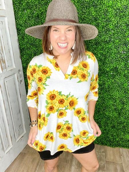 Sunflower Gabby Top