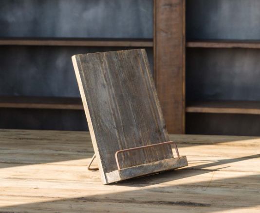 Rustic Tablet/Cookbook Stand