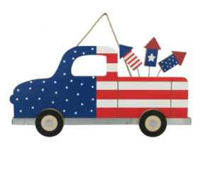 4th of July Truck Sign