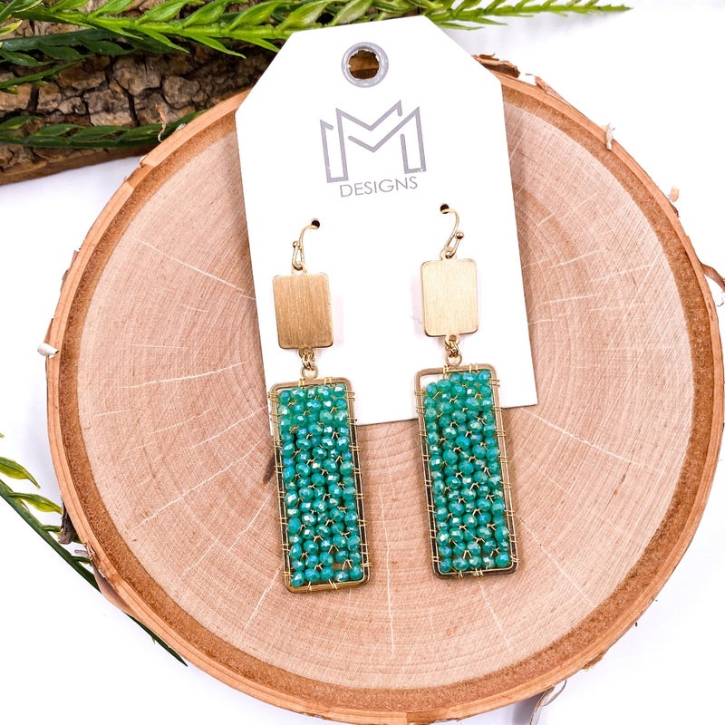 Rory Earrings - Turquoise