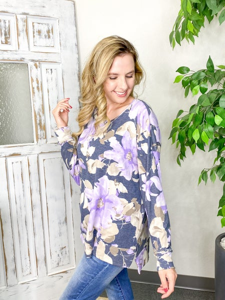 Floral Infusion Top