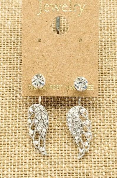 Assorted Silver Earrings