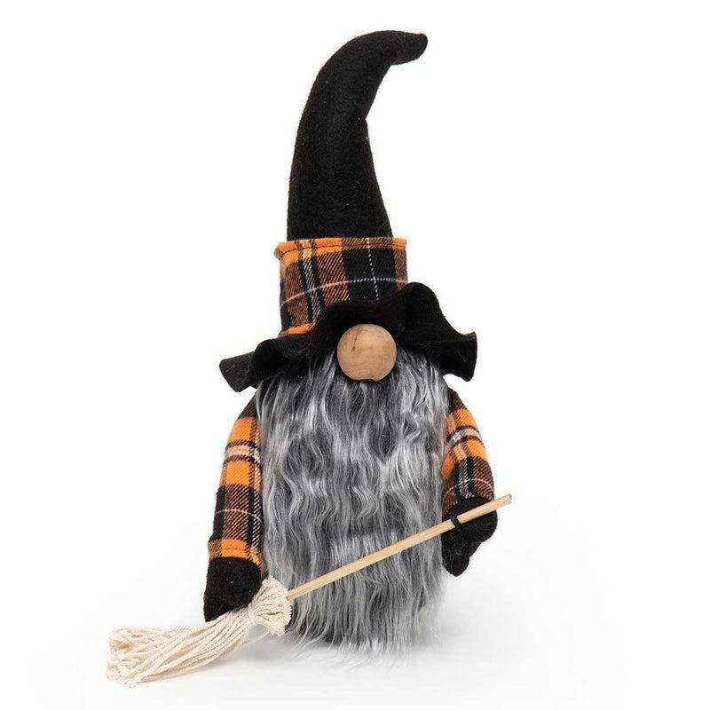 "Gnome 13"" Witch w/Broom"