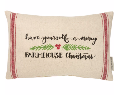 Pillow - Have Yourself A Merry Farmhouse Christmas