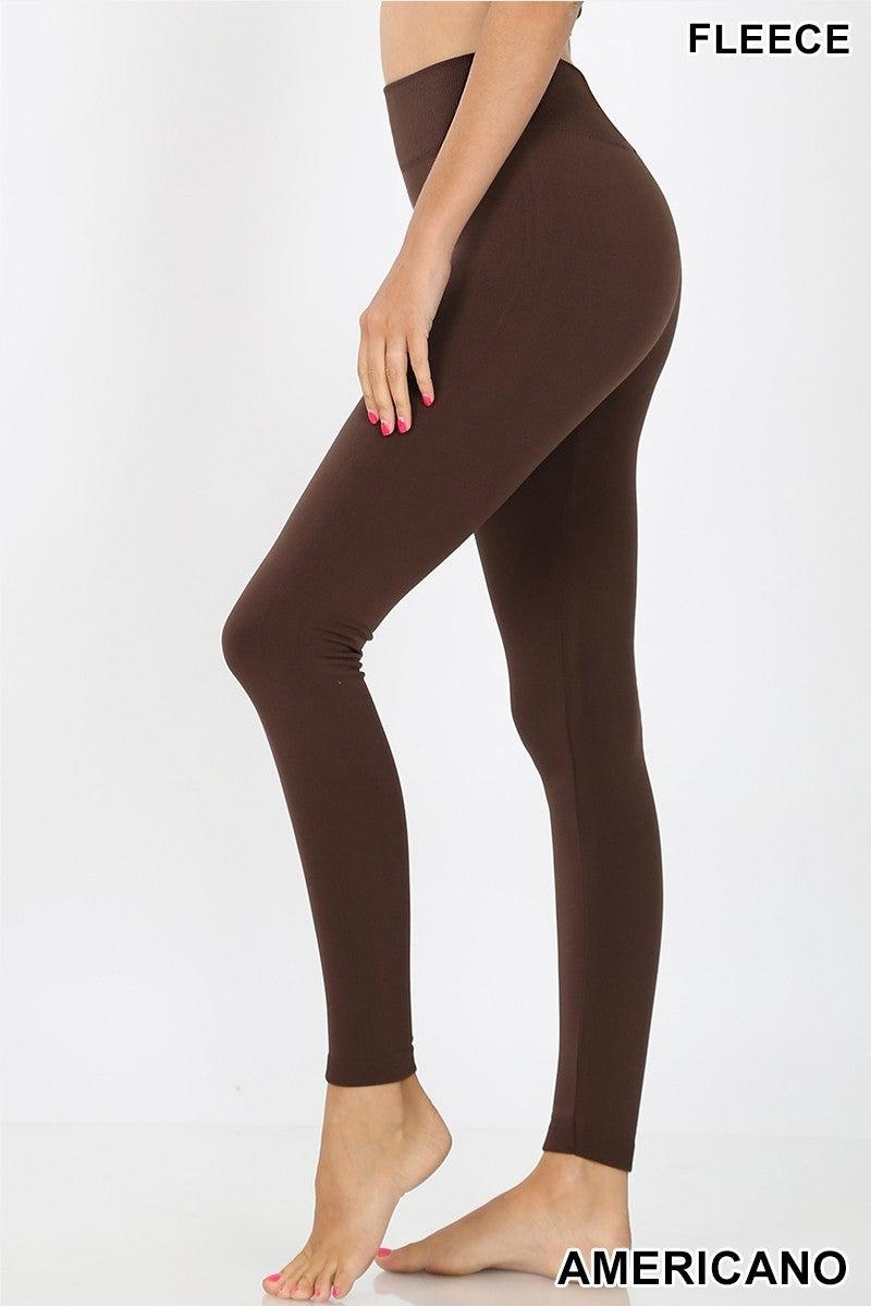 Fleece Lined Seamless Leggings