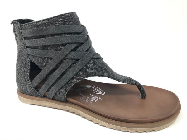 Black Carly Sandals