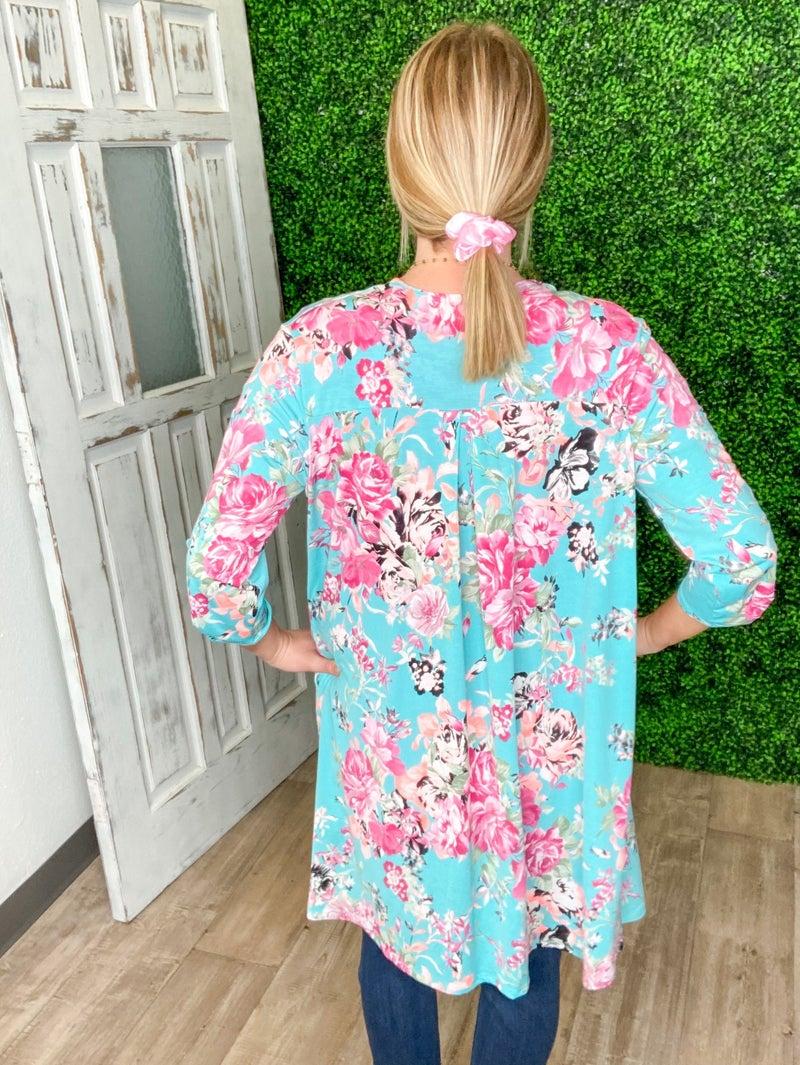 Floral Gabbi Cardi