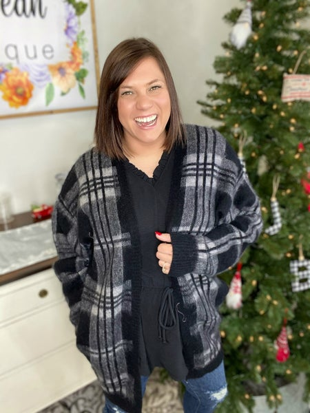 Getting Even Sweater Cardigan