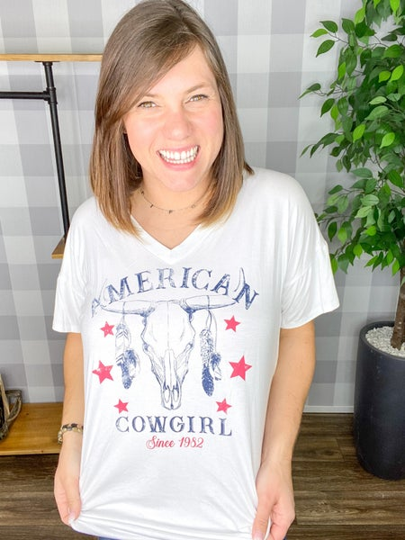 American Cowgirl Tee
