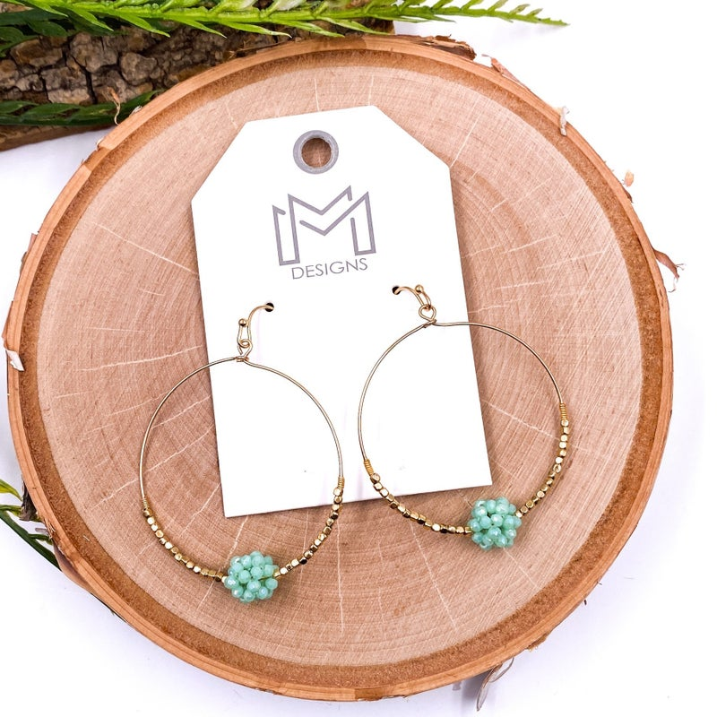 Becket Earrings (4 Color Option)