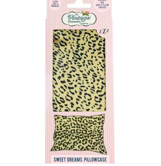 Sweet Dreams Pillowcase Jaguar Print